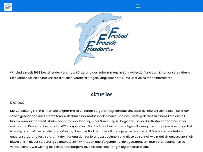 Screenshot von http://www.friesi.org/